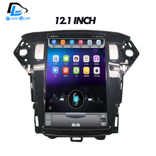 32G ROM Vertical screen android car gps multimedia video radio player in dash for Ford Mondeo 2007-2010 years navigaton system(China)