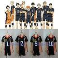 Anime Haikyuu! Karasuno Secundaria Club Voleibol Hinata Shyouyou/Kageyama Tobio Jersey Cosplay 8 Números para Elegir