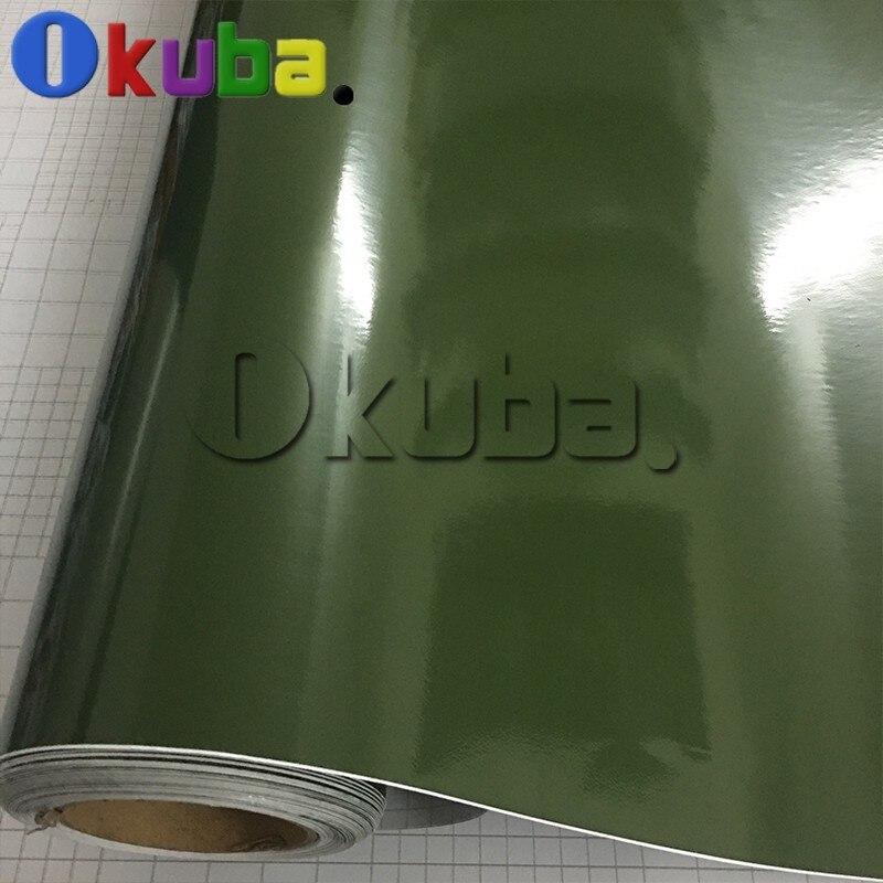 army-green-glossy-vinyl-car-wrap-decal-sticker-3