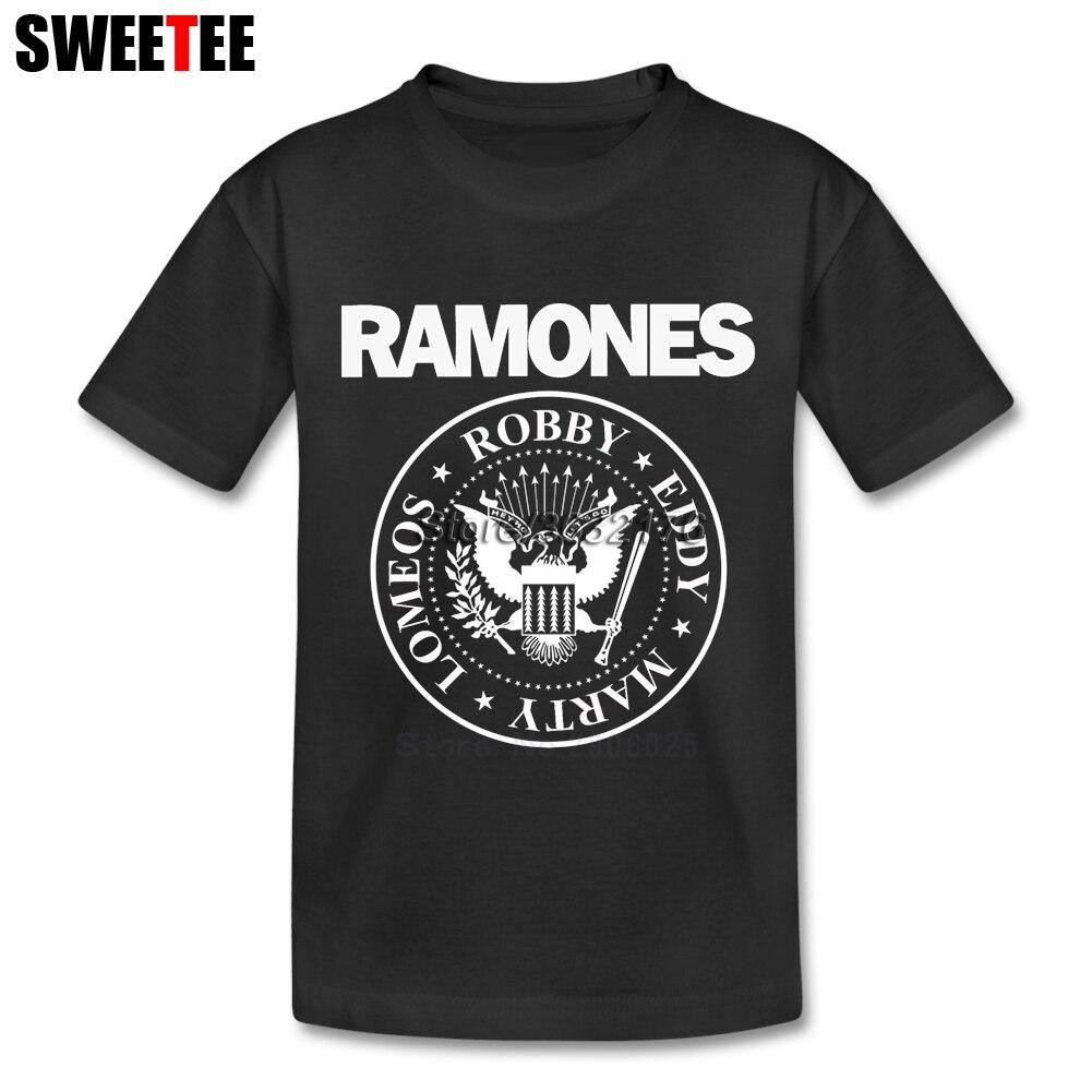 Ramones childrens Toddler Teeshirt T Shirt Infant Pure Cotton Boy Girl 2018 T-shirt O Neck Kid Tshirt