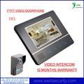 """7"""" Color HD Monitor Night-vision IR Camera Video Doorbell DoorPhone Intercom System Support Call Monitor Intercom"""