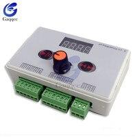 DC 12V 24V Reversible Stepper Motor Speed Controller Stepping Governer Governor Pulse Signal Controller LED Display 40 200KHZ