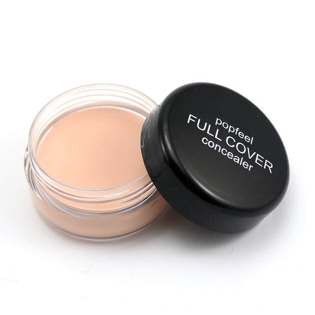 Base Concealer Cream Face Cover Blemish Hide Dark Spot Blemish Eye Lip Contour Makeup Liquid Foundation Cosmetic Concealer Cream 4