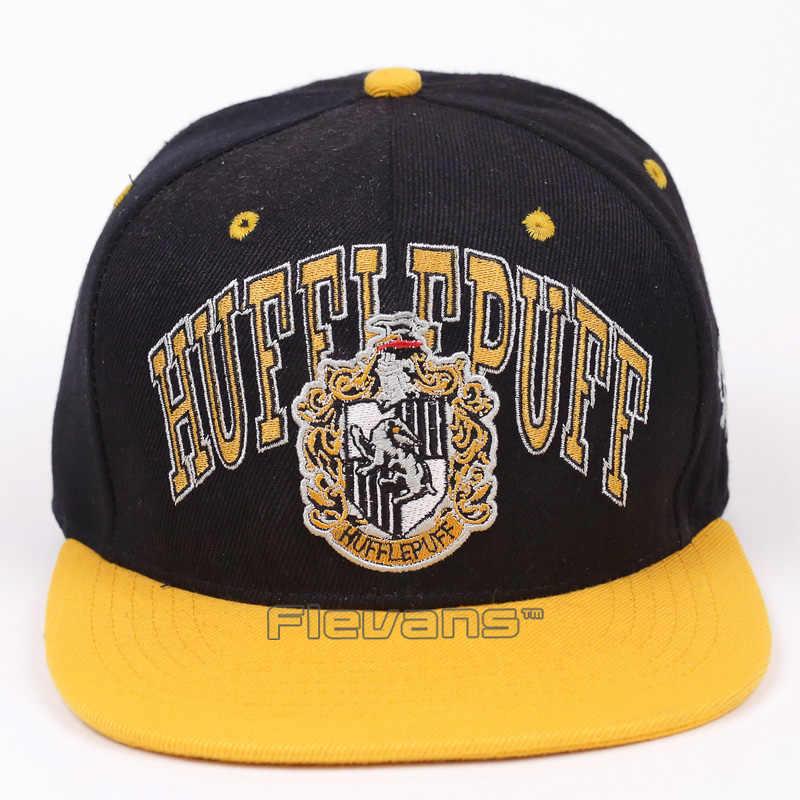 9925f65fc523e Fashion Ravenclaw Hufflepuff Casual Summer Cotton Snapback Cap Hat Baseball  Caps Adjustable Hats 2 Styles