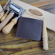 Leather Astronaut Wallet