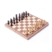 Hot sale Wooden chess set folding International Chess games chess Board Christmas Gift