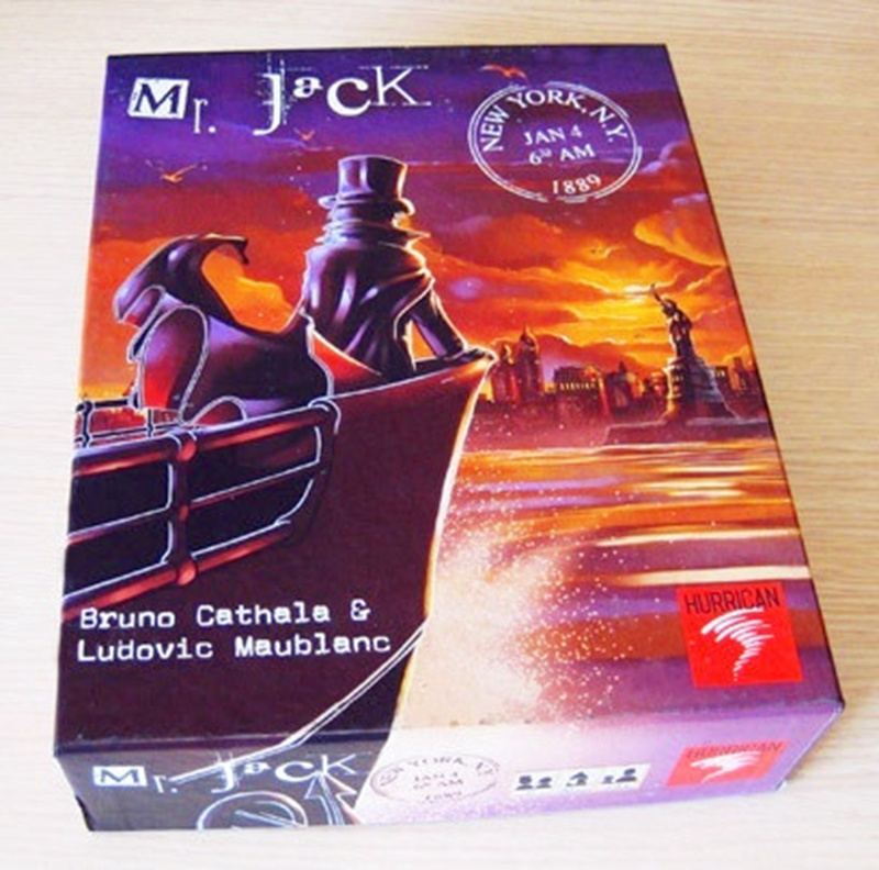 Board Game Mr Jack In New York, Classic Game Of Reasoning High Quality, Best Card Game Very Suitable For The Family Party
