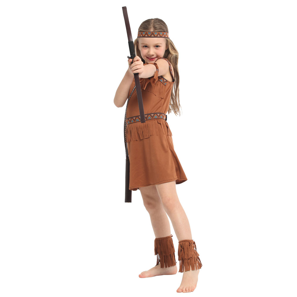 Sweet Indian Princess Halloween Costume  3