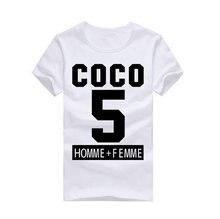 Coco Canal Achat Pas Cher t-shirt D'o-Cou À La Mode hommes de manches courtes d'été chemises 100% coton(China (Mainland))