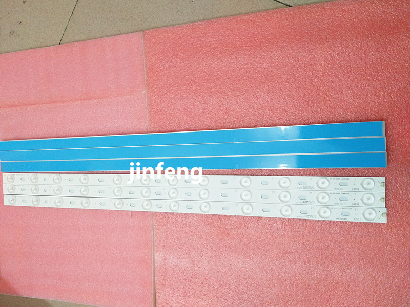 10pcs x 32 inch LED TV Backlight Lens Strips LED32F3300C 35016695 IC BKKL32D019 for 32 Konka