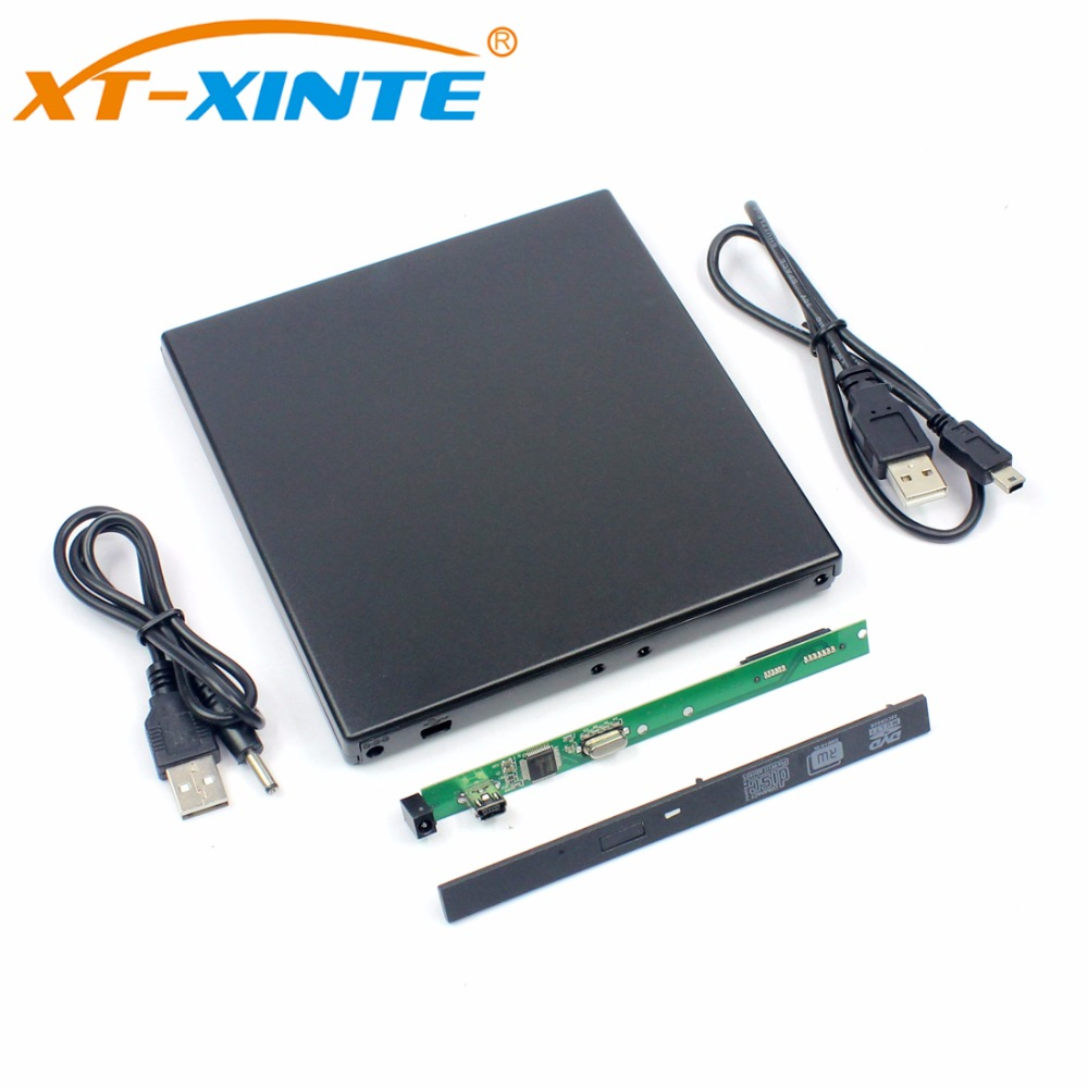 USB2.0 внешний жесткий диск SSD корпус 9,5 мм DVD-RW диск случае комплект для ноутбука WindowXP/2003/Vista /Win7/Linux/Mac OS 10 ...