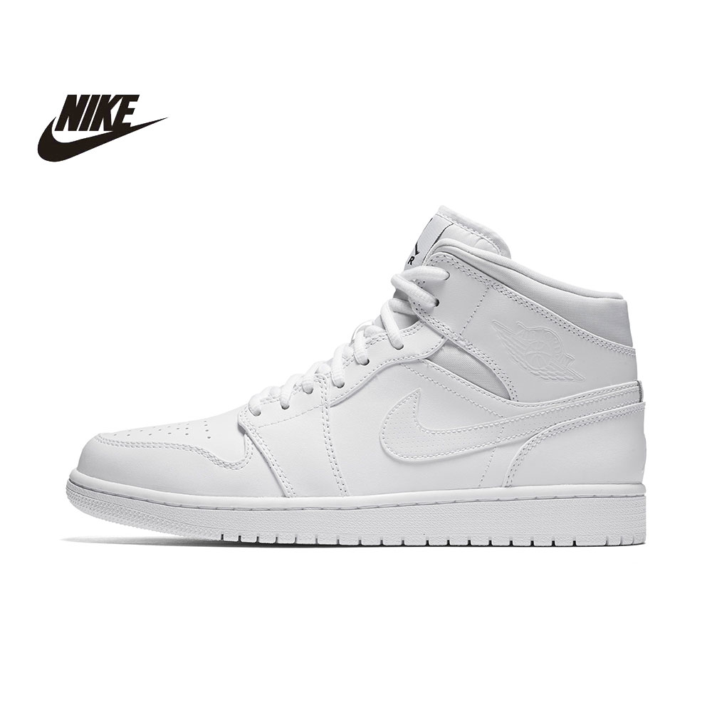 NIKE AIR JORDAN Mens Basketball Shoes Breathable Original Anti-skid PU Indoor Floor Sport Shoes #554724-400