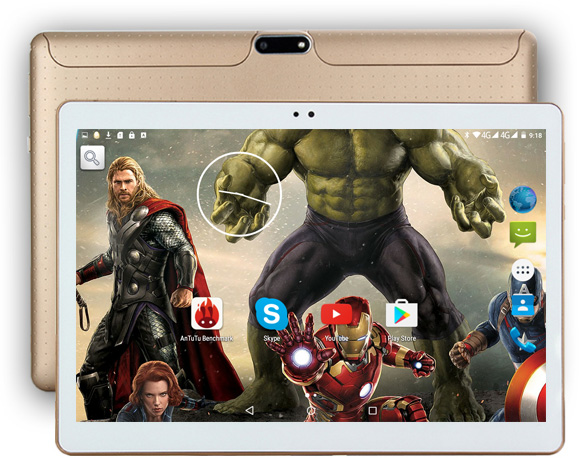 DHL free shipping 10 inch Tablet PC Octa Core 4GB RAM 64GB ROM Dual SIM Cards