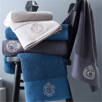 80*150cm New Arrival Soft Solid Cotton Hotel Towels luxury bath towels for adults High Absorbent men women basic Towels