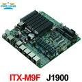 Брандмауэр промышленный embeddded ITX_M9F материнская плата поддерживает Intel J1900/2.00 ГГц четырехъядерный процессор с 1 * VGA/6 * USB/2 * COM