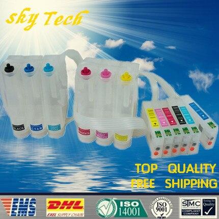 Empty CISS Suit for T5591 T5592 T5593 T5594 T5595 T5596 suit for epson RX700 with auto