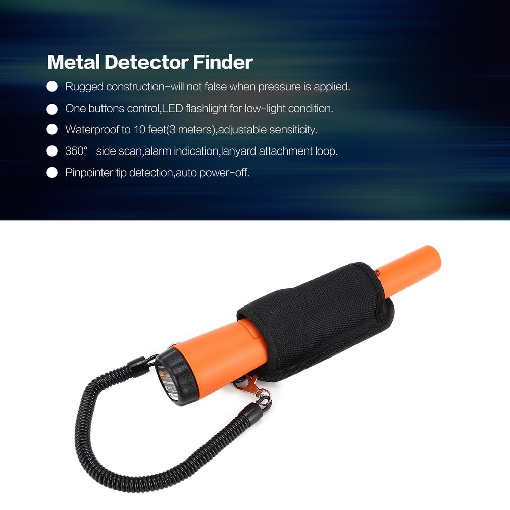 Gold Hunter Suit Professional Pinpointer Metal Detector Finder Underground Scanner Smart Sensor Waterproof Alarm Hunting smart sensor ar944 underground metal detector fast shipping