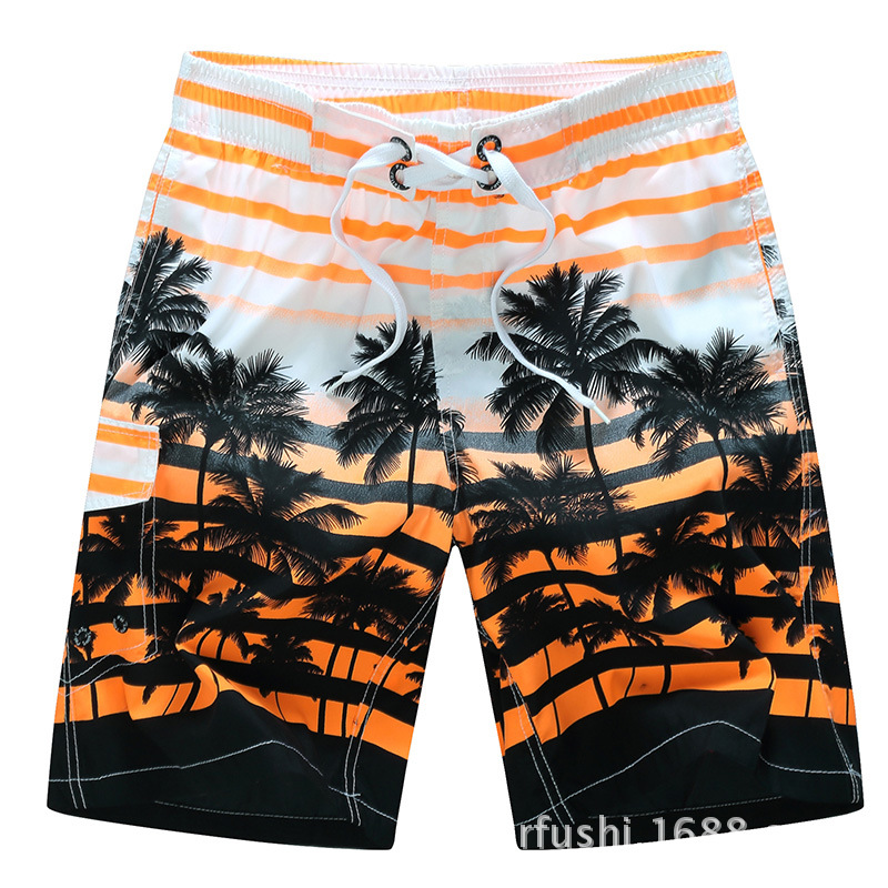 2019 Mens Print Swimwear Swim   Shorts   Trunks Beach   Board     Shorts   Swimming   Short   Pants Swimsuits Running Sports Surfing S915018X