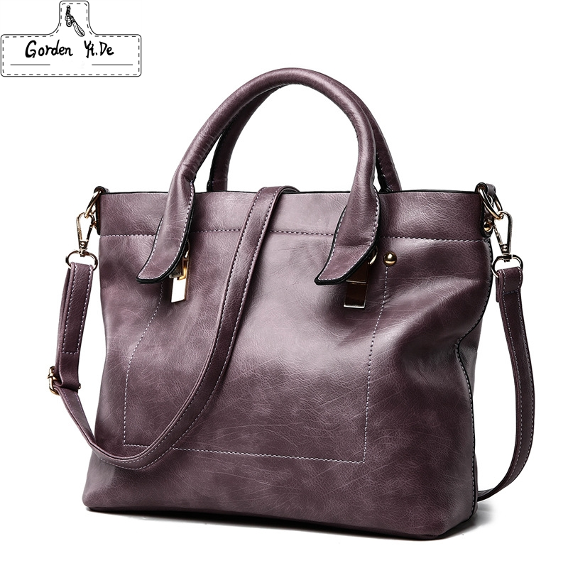 Large Capacity Tote Bag 2018 New Fashion Women Leather Handbags Designer Shoulder Bags Lady Purses Crossbody Bag Sac A Main kzni women leather handbags genuine leather women messenger bags female purses and handbags sac a main bolsa feminina 1441