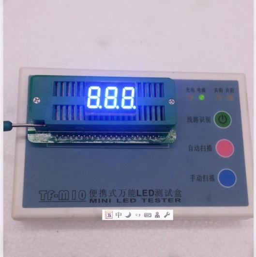 100pc Common Anode/Common Cathode 0.36 Inch Digital Tube 3 Bit Digital Tube 0.35inches Best Digital Tube Blue