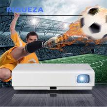 Riqueza x3001 dlp projetor com alta brilhante 3led luz 3000 lumen tela livre tv projetor com projetor curto lance