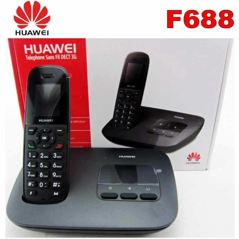 500PCS/Lot Cordless Phone & Handsets For Huawei F685 DECT Desktop