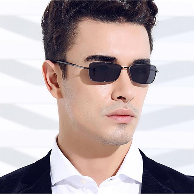 f7fb316dce Vazrobe 136mm Small Rectangle Mens Polarized Sunglasses Driving Narrow Face  Anti Glare reflective Sunglass Man UV400 Protection
