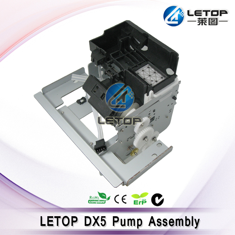 zhognye solvent printer eco solvent printhead DX5 head cap station assembly mutoh vj 1604w rj 900c water based pump capping assembly solvent printers