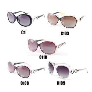 Image 3 - Moda gafas de Sol Polarizadas de Mujer de Marca Gafas de 2017 Gafas de Aviador Polarizadas de Conducción Gafas de Sol gafas de sol feminino 2115