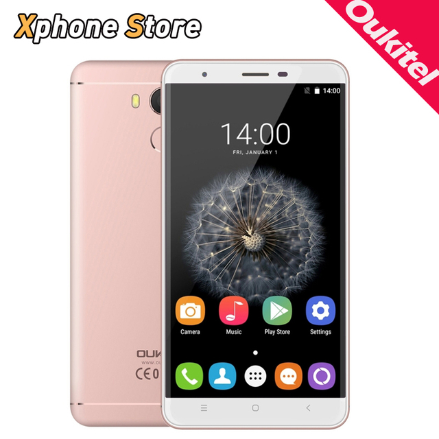 Original OUKITEL U15 Pro Android 6.0 RAM 3GB ROM 32GB MTK6753 Octa Core 1.3GHz 4G LTE 5.5 inch with FM OTG 16.0MP Mobile Phone
