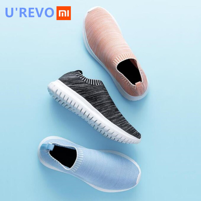Xiaomi UREVO Leisure Light Sneaker Sport Gym Shoes Lightweight Ventilate Elastic Wearable Outdoor Sport Shoes for Men/Women C2