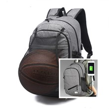 New Shoulder Bag Can Maintain Balls Practical Laptop computer Backpack USB Charging Enterprise Journey Backpack College Luggage For Youngsters