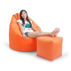 Image 5 - Plus haute qualité Cube pouf housse de canapé chaises étanche siège salon chaise de jeu siège pouf (le remplissage nest pas inclus)