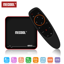 Mecool M8S PRO W TV Box 2.4G Voice Control  S905W Smart TV Box / Android 7.1 4k Android Set Top IPTV TV Box mecool m8s pro l 4k tv box android 7 1 smart tv box 3gb 16gb amlogic s912 cortex a53 cpu bluetooth 4 1 hs with voice control