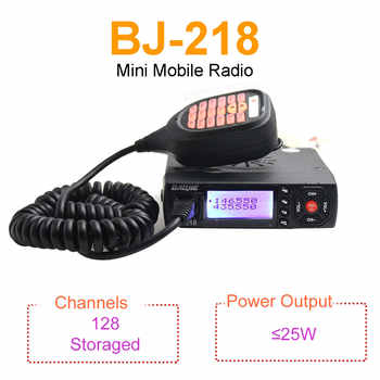 Mini Mobile Radio BAOJIE BJ-218 25W Output Power Dual Band 136-174 & 400-470MHz FM Radio BJ218 Walkie Talkie - DISCOUNT ITEM  13% OFF All Category