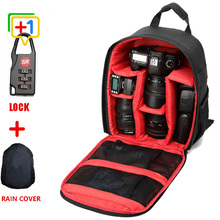 High quality Red Waterproof multi-functional Tigernu Digital DSLR Camera Video Bag Small SLR Camera Bag for Photographer