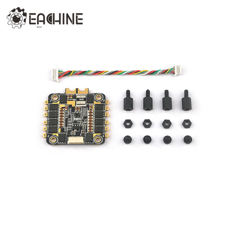 Hot New Eachine Stack-X F4 Flytower Spare Part 35A 4 In 1 ESC 2-6S BLHeli_S Dshot600 Ready For RC Drone FPV Racing hot new eachine stack x f4 flytower spare part 35a 4 in 1 esc 2 6s blheli s dshot600 ready for rc drone fpv racing