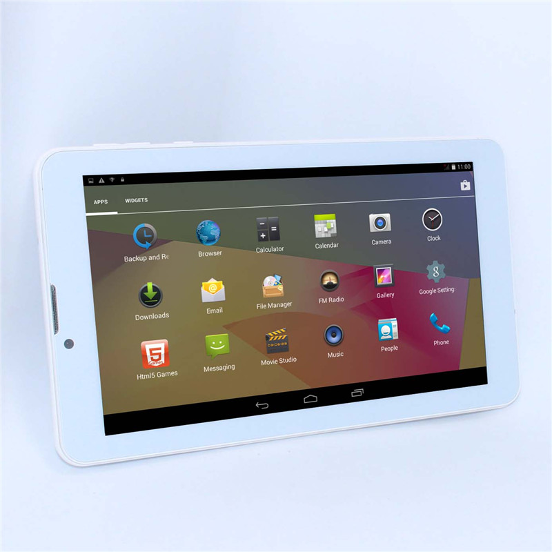 7'' cheap 3G Phone Call MTK6572 Tablet PC Unlocked