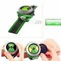 Bandai Ben10 Проектор Часы Часы Бен 10 Проектор Подарки На День Рождения для Детей