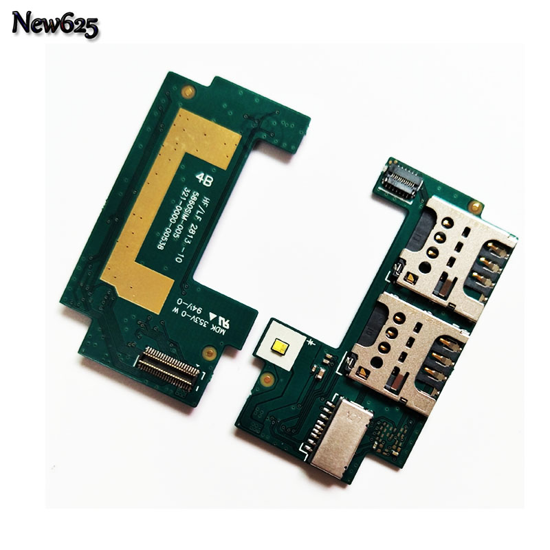 Original Sim Card Reader Holder Flex Cable For Sony Xperia C S39H S39C C2305 C2304 Sim Card Slot Adapter Board