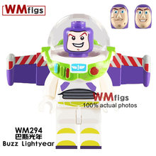 Single Toy Story Buzz Lightyear legoingly Astro Unicorn Building Blocks Bricks Gifts Funny Cute Girls Toys for Children Kids(China)
