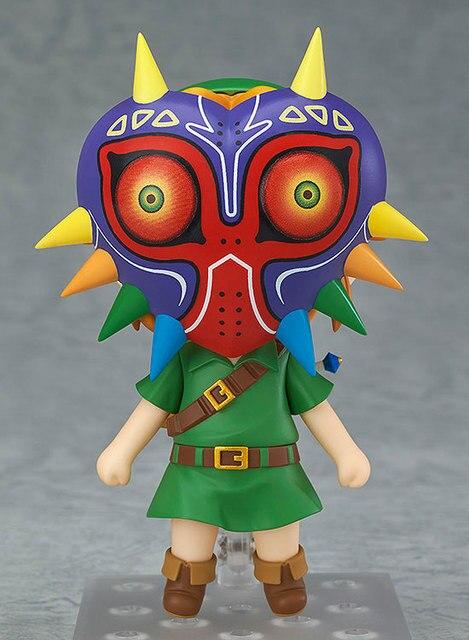 Anime enlace el viento Waker Breath of the Wild versión Majora máscara de 3D cráneo 413 de 553 de 733 zelda PVC figura de acción