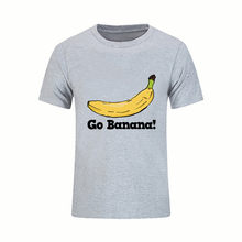 863bbd507 Man Tee tshirts Fruit Short Sleeve Go Banana Tops Printing Summer Luxury  Brand Male T Shirt