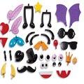 36 pçs/lote Magia Bola Fofo Pequeno Componente Espinho Estilo Blocos de Construção Crianças Brinquedos Do Bebê Early Learning Criativo DIY Handmade