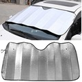 130*60cm Universal Reflective Car Aluminum foil Windscreen Sunshade Front Window Sun Shade Windshield Visor Cover UV Protect