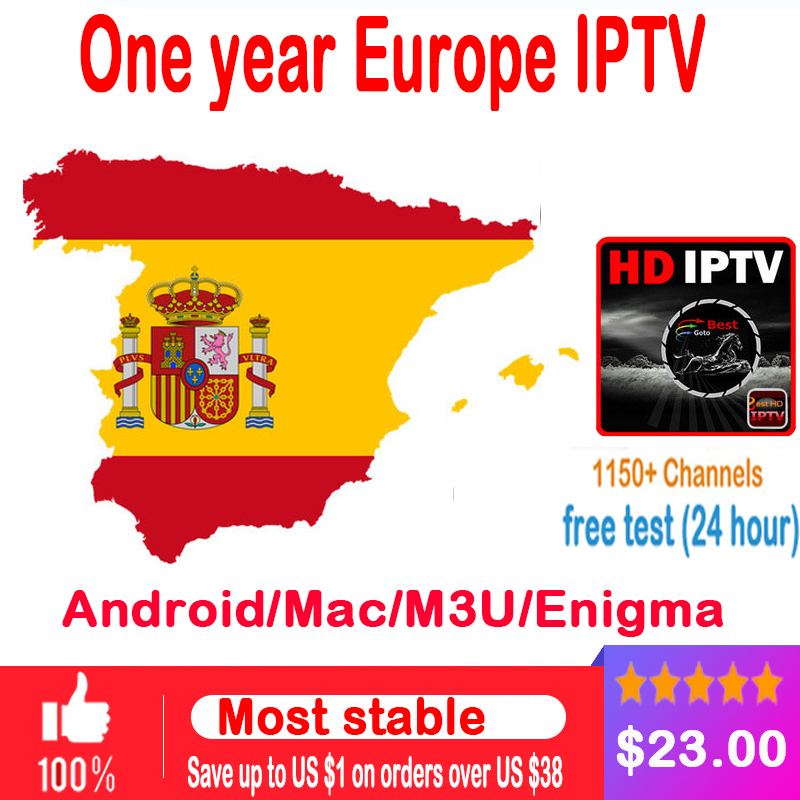 Italy Iptv Subscription Italian UK German French Spanish Bein Sport Mediaset Premium for M3u Enigma2 Smart TV PC Android