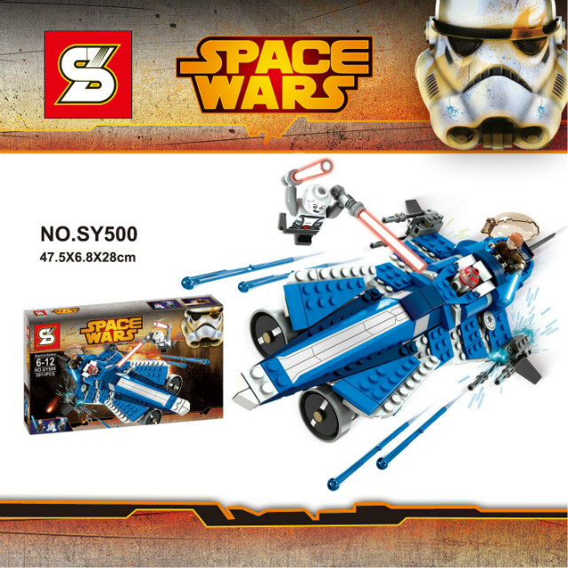 SY500 Star Wars Space Wars Clone Troopers Spacecraft Minifigures Building font b Block b font Minifigure