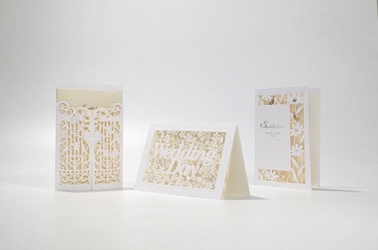 Elegant Wedding Invites Coupon: 1pcs Sample Elegant Laser Cut Wedding Invitation Wedding
