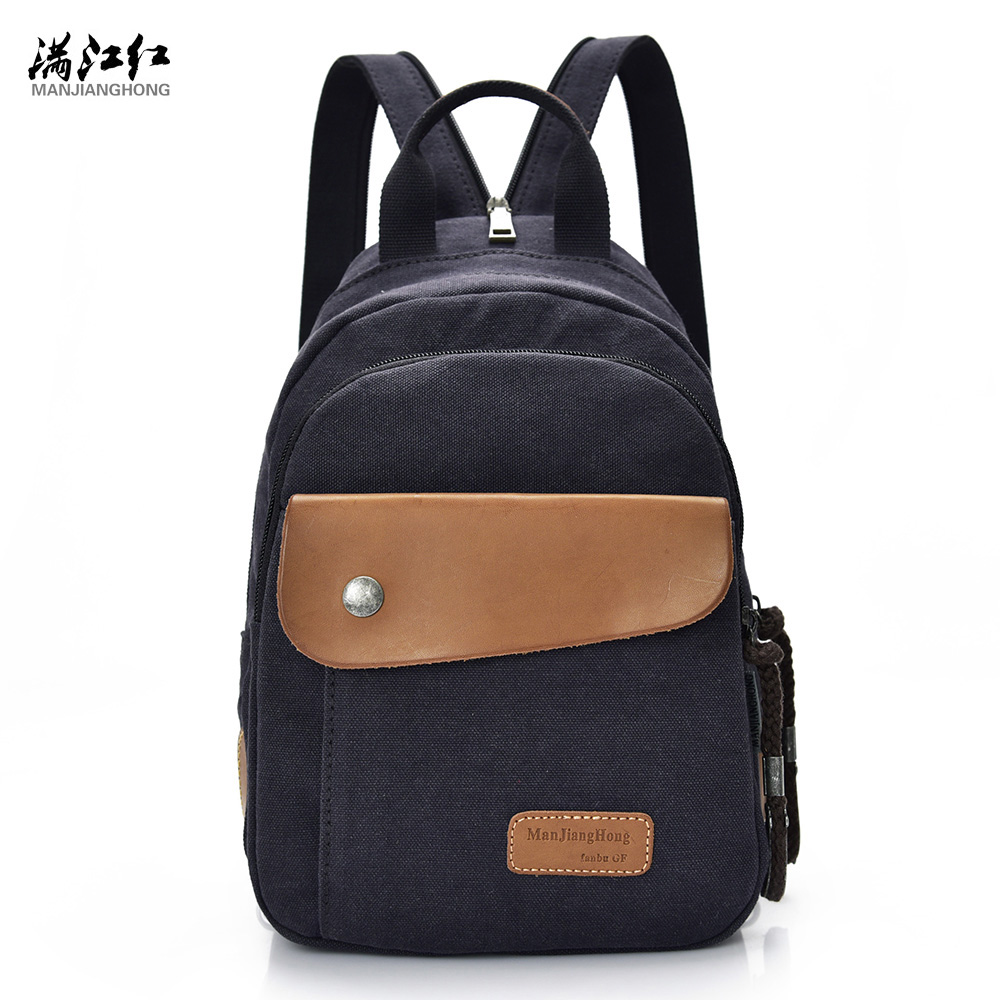 2016 Hot Sale!Fashion Canvas Women Small Shoulder Bags Vintage Men Backpack Casual Women Backpack New School Bag Unisex 2016 hot sale fashion canvas cute mustache school book bag vintage women backpack casual women backpack