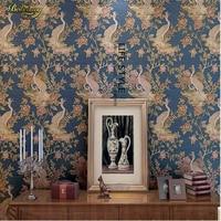 Beibehang寝室リビングルームテレビの背景環境保護3d立体深いエンボス加工ハイグレード不織布壁